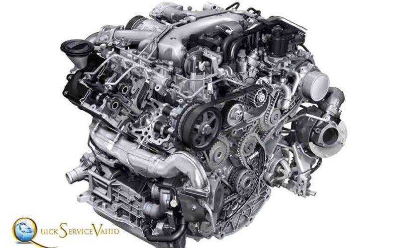 تنظیم موتور ماشین در محل