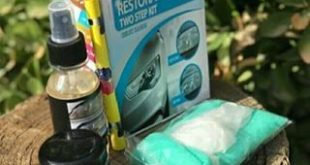 کیت شفاف کننده چراغ خودرو