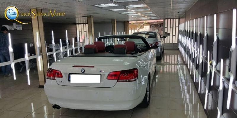 مراکز کارشناس رنگ خودرو در تهران