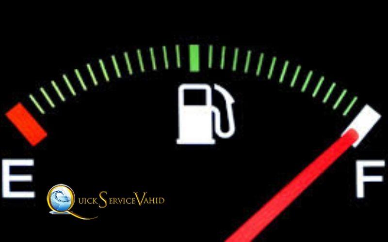 خرابی آمپر بنزین