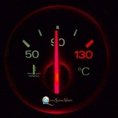 کم شدن آب خودرو
