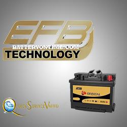 قیمت باتری اوربیتال efb